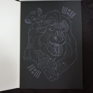 Disney Magisch Krasblok (dierenrijk) binnenkant 1