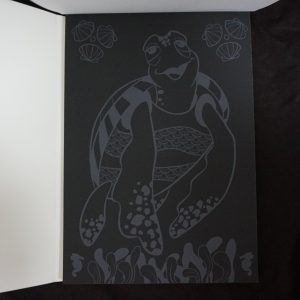 Disney Magisch Krasblok (dierenrijk) binnenkant 2