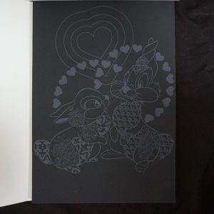 Disney Magisch Krasblok (dierenrijk) binnenkant 3