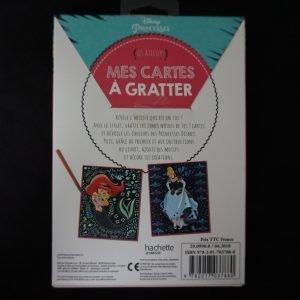 Disney Magische Kraskaarten (prinsessen) achterkant