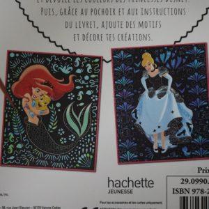 Disney Magische Kraskaarten (prinsessen) detail