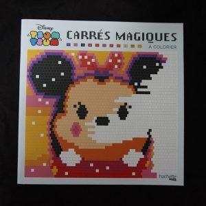 Disney kleuren op nummer vierkant (Tsum Tsum)