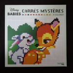 Disney kleuren op nummer vierkant (Babies)