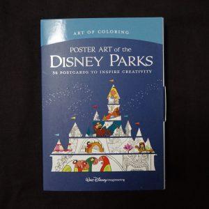 Disney kleuren voor volwassenen (Disney Parks kaarten)