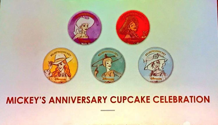 Buttons Mickey's 90e verjaardag