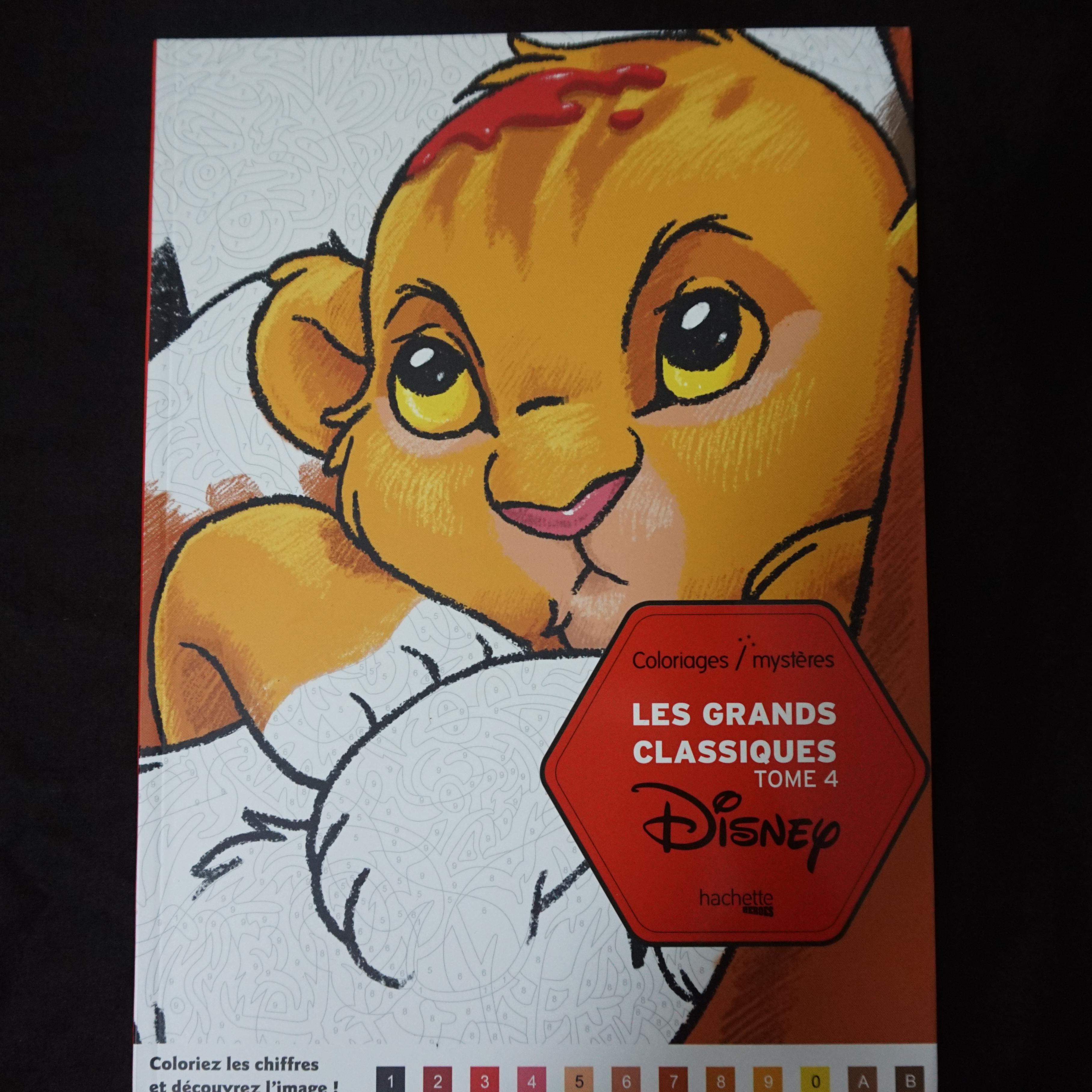 Coloriage Disney Tome 5.Nieuw Artikel Disney Kleuren Op Nummer Versie 4