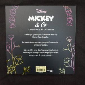 Disney Magisch Krasblok (Mickey & Co) achterkant