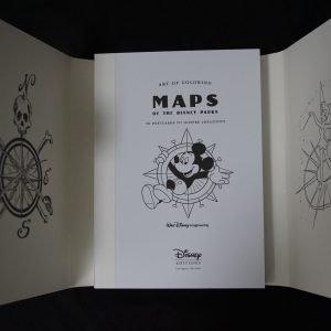 Disney kleuren voor volwassenen (Disney Maps kaarten) binnenkant 1