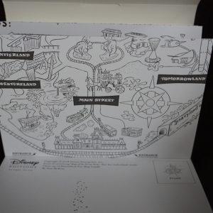 Disney kleuren voor volwassenen (Disney Maps kaarten) binnenkant 2