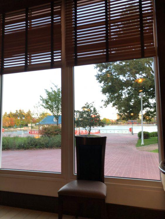 uitzicht ontbijt Newport Bay Club