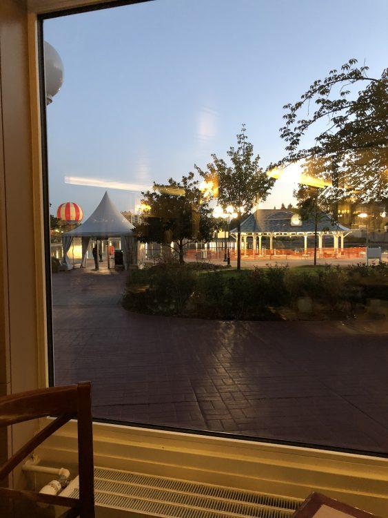 uitzicht ontbijt NPBC