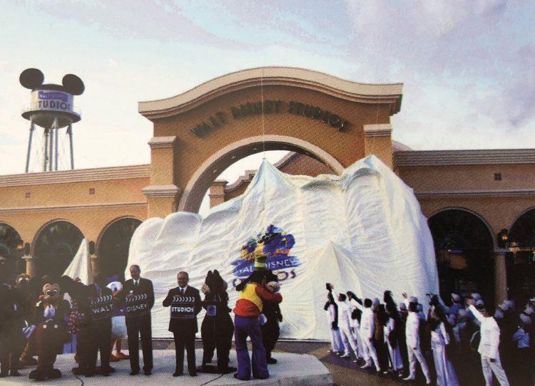 Opening Walt Disney Studios