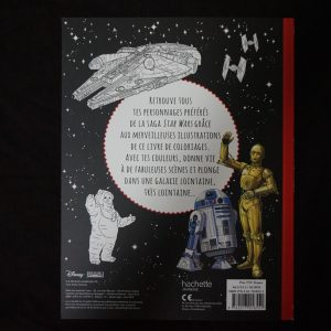 Disney kleurboek Star Wars (Junior) achterkant