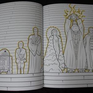 Disney kleurboek Star Wars (Junior) binnenkant 1