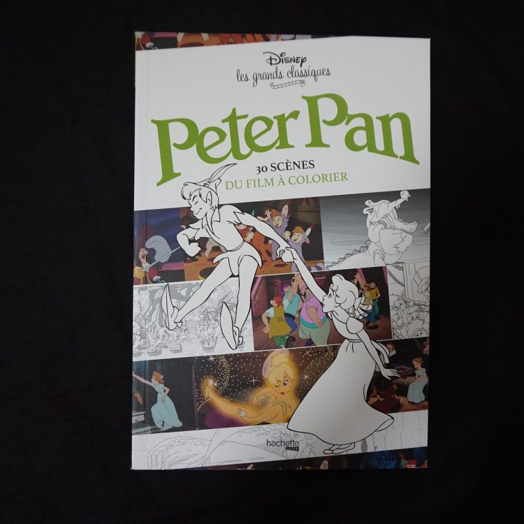 Disney filmscene kleurboek (Peter Pan)