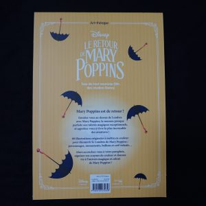 Disney kleuren voor volwassenen (Mary Poppins) achterkant