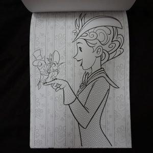Disney kleuren voor volwassenen (Mary Poppins) binnenkant 2