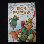 Disney kleuren voor volwassenen blok (Boy Power)