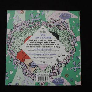 Disney kleuren voor volwassenen compact (Love Stories) achterkant