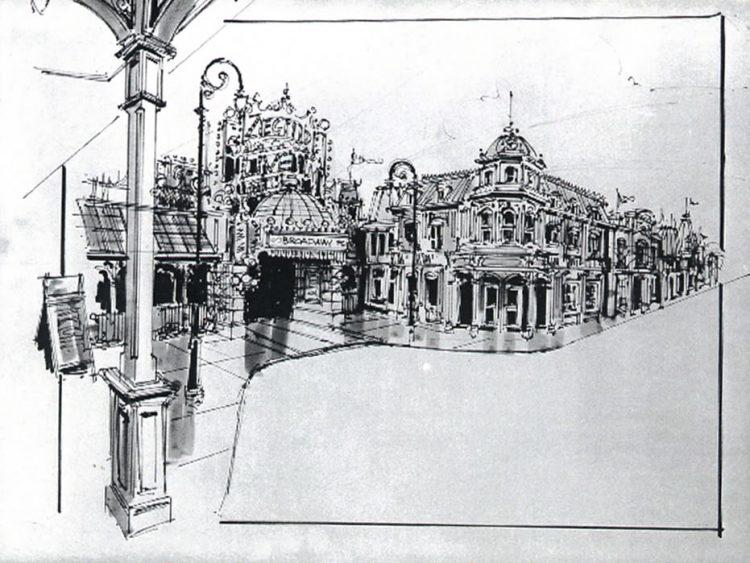 schets Main Street USA