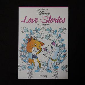 Disney kleuren voor volwassenen mini (Love Stories)