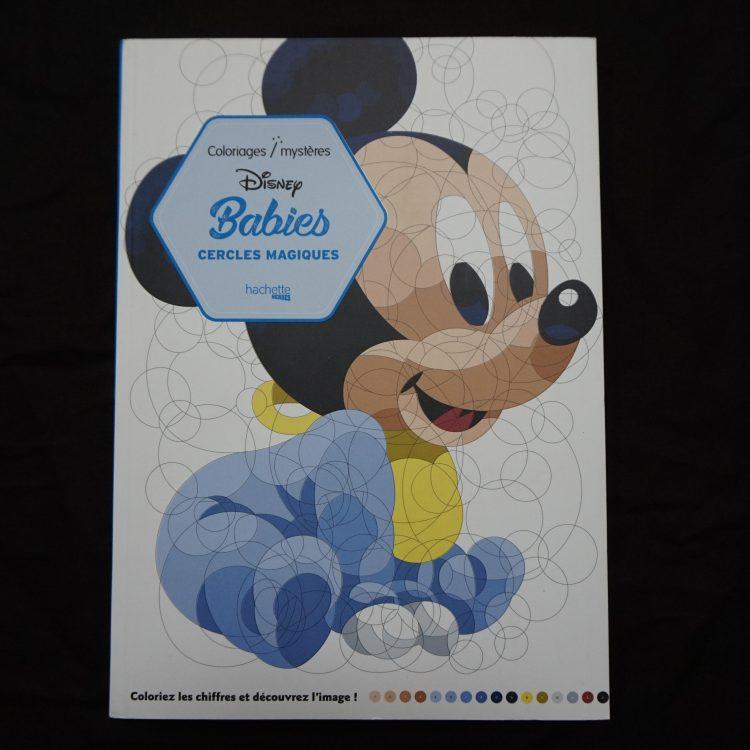 Disney kleuren op nummer (rond)