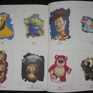 Disney kleuren op nummer (rond) binnenkant 3