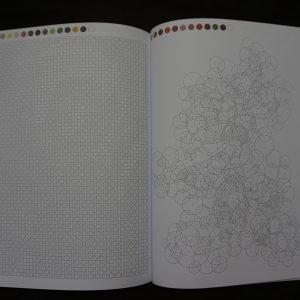 Disney kleuren op nummer (rond) binnenkant 1