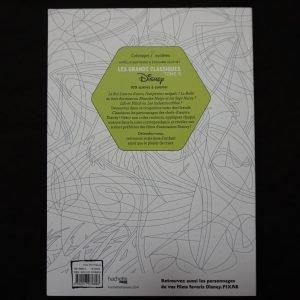 Disney kleuren op nummer (versie 5) achterkant