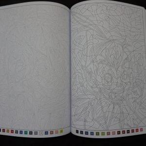 Disney kleuren op nummer (versie 5) binnenkant 3