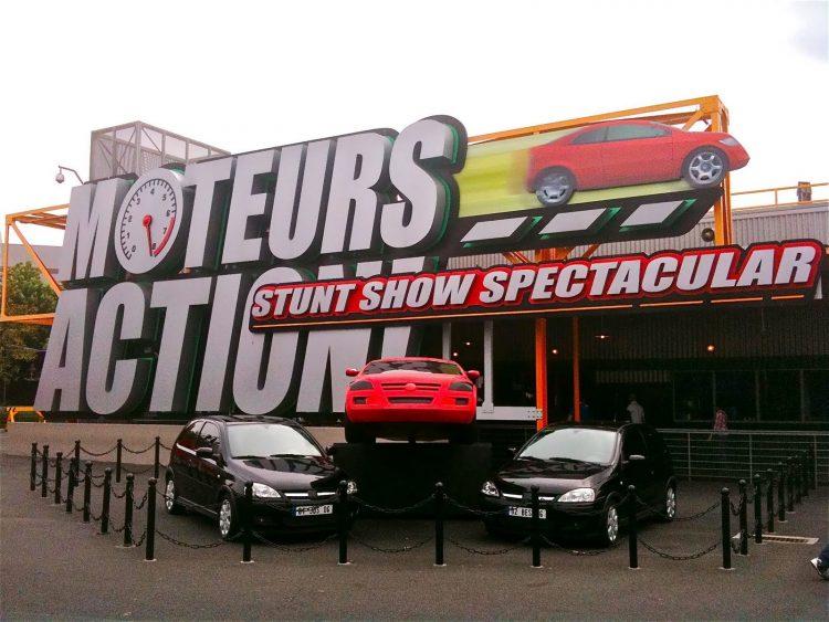 Moteurs… Action! Stunt Show Spectacular oud