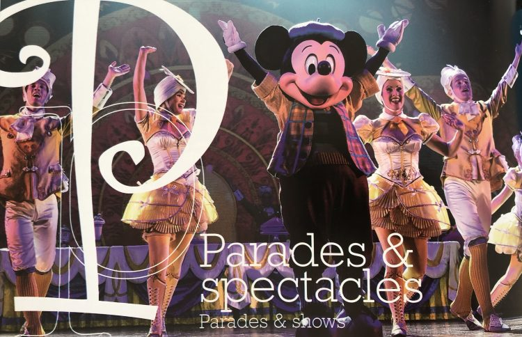 Disneyland Paris parades en shows