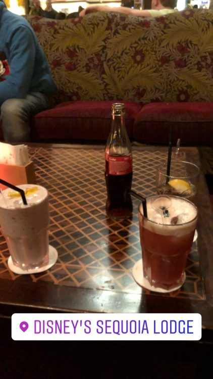 cocktails sequoia lodge