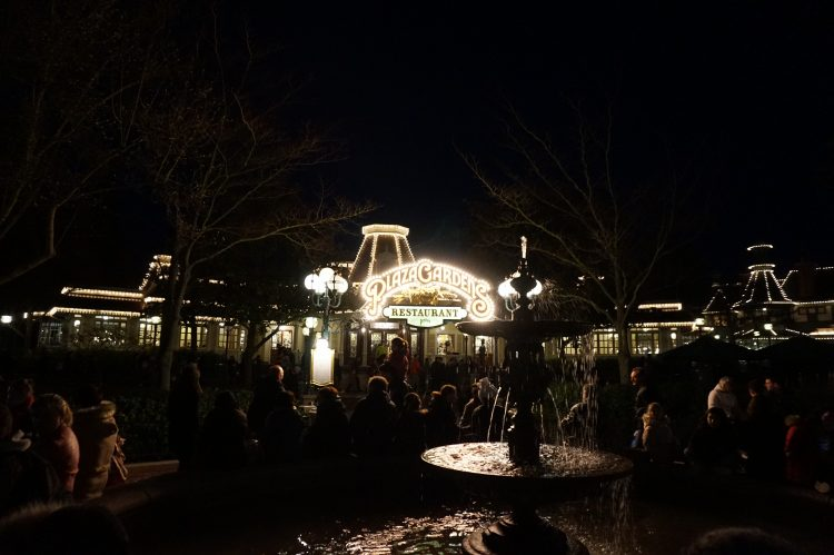 Plaza Gardens night