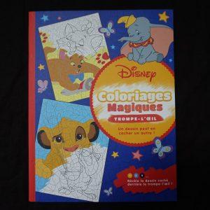 Disney kleuren op nummer (Junior Misleiding)
