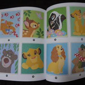 Disney kleuren op nummer (Junior Misleiding) binnenkant 1