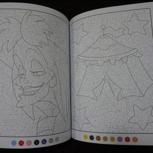 Disney kleuren op nummer (Junior Misleiding) binnenkant 3