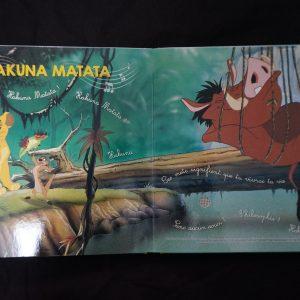 Disney muziekboek (liedjes om op te dansen) binnenkant 1