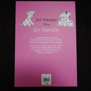 Disney kleuren voor volwassenen blok (Familie) achterkant