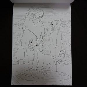 Disney kleuren voor volwassenen blok (Familie) binnenkant 1