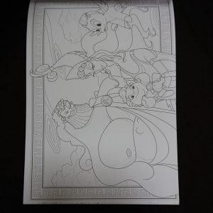 Disney kleuren voor volwassenen blok (Familie) binnenkant 3