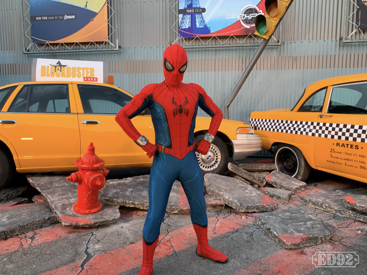 Spider man m&g