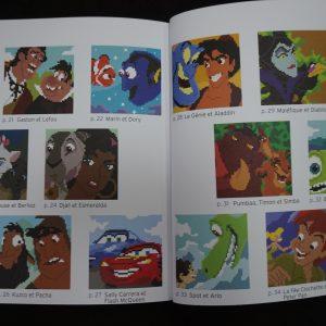 Disney kleuren op nummer vierkant (Buddies) binnenkant 1