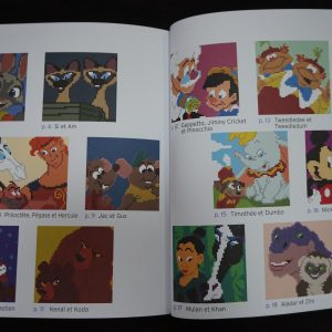 Disney kleuren op nummer vierkant (Buddies) binnenkant 2
