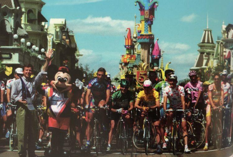 Tour de France Disneyland