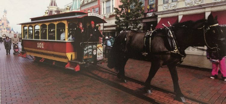 Disneyland Paris paard en wagen