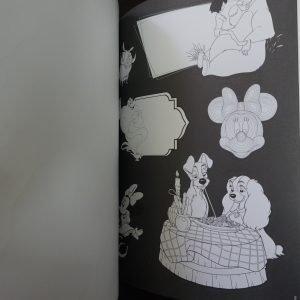 Disney kleuren voor volwassenen (stickers) binnenkant 1