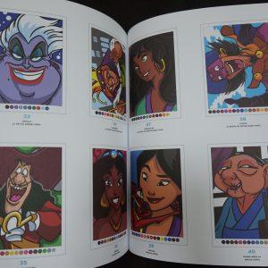 Disney kleuren op nummer (met lijnen 2) binnenkant 2