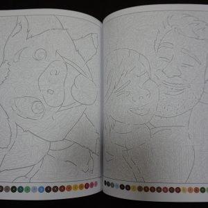 Disney kleuren op nummer (met lijnen 2) binnenkant 3