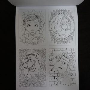 Disney kleuren voor volwassenen blok (Portretten) binnenkant 1